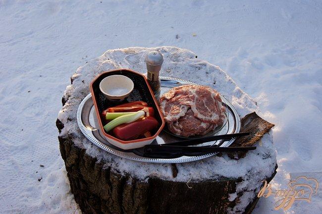 Фото приготовление рецепта: Свиная шейка на гриле шаг №1