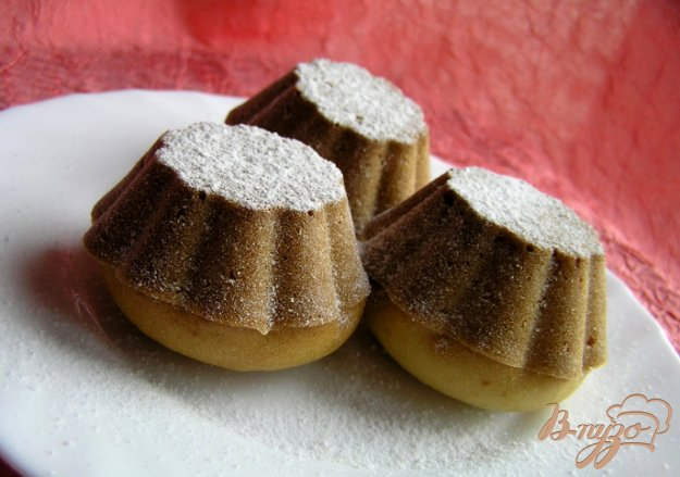 Рецепт Постные маффины-булочки