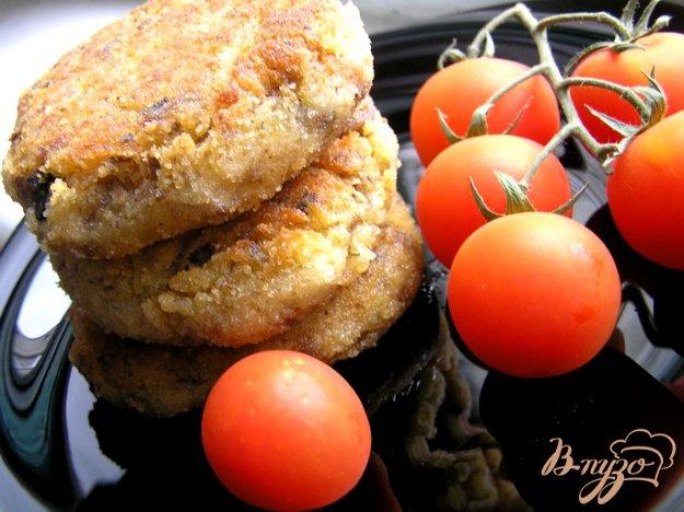Рецепт Котлеты из белой фасоли с грибами