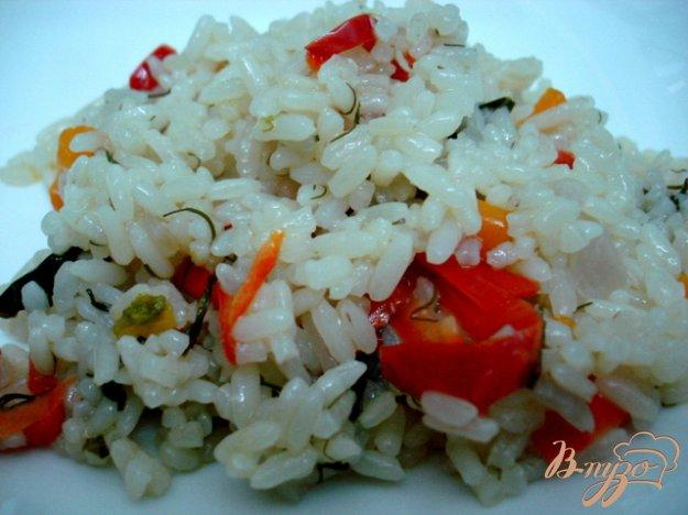 фото рецепта: Рис с овощами