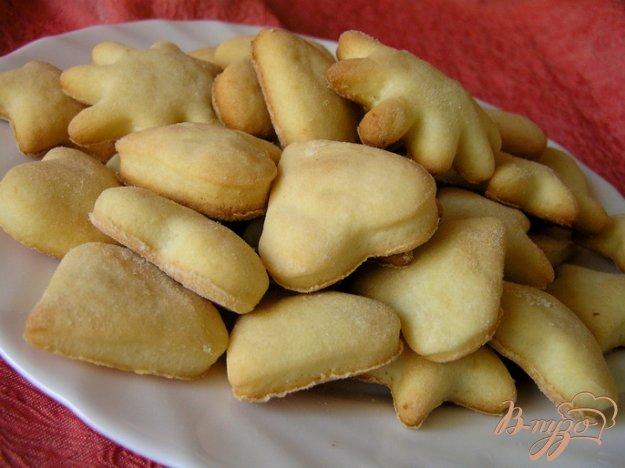 Рецепт Вкусное творожное печенье