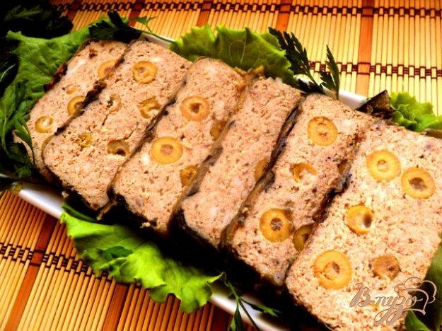 Рецепт Террин с баклажанами и оливками
