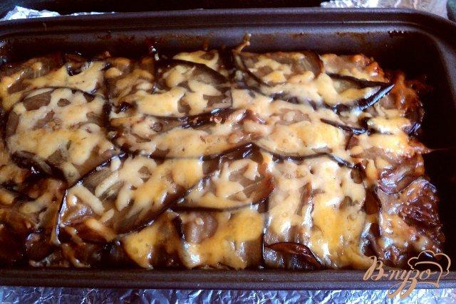 Фото приготовление рецепта: Террин с баклажанами и оливками шаг №10