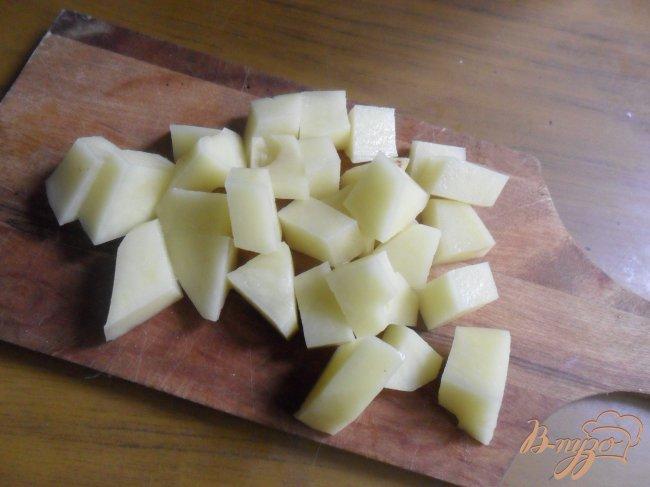 Фото приготовление рецепта: Похлёбка из тыквы и брюссельской капусты шаг №1