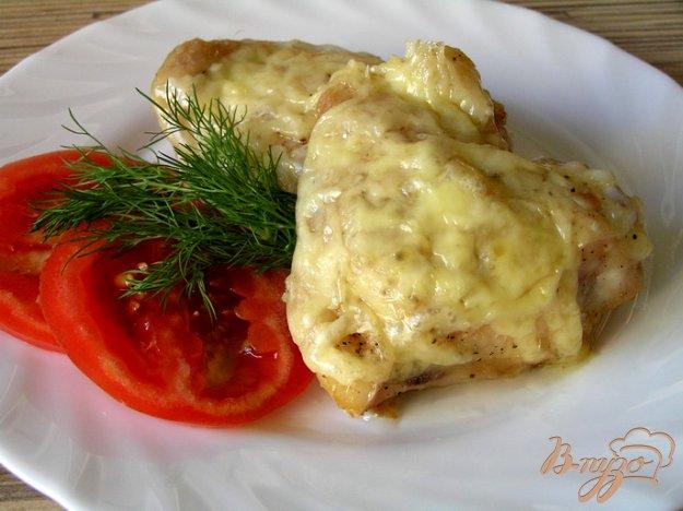 Рецепт Куриные бедрышки под сыром
