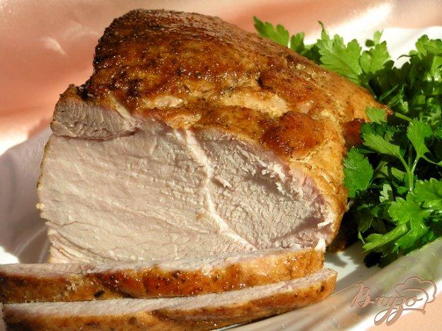 Рецепт Запеченная свинина с адыгейской солью