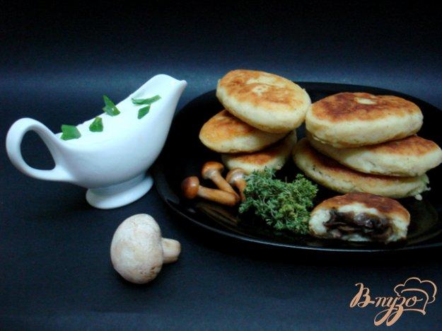 фото рецепта: Картофельные зразы с шампиньонами