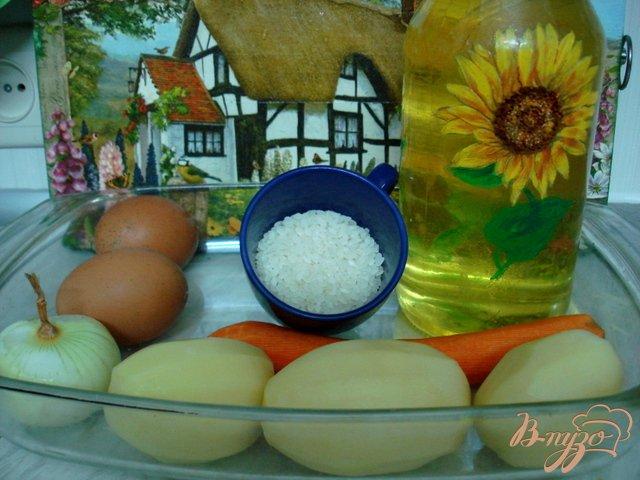 Фото приготовление рецепта: Щавелевый суп с рисом шаг №1