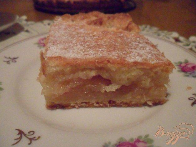 Рецепт Яблочно - лимонный пирог