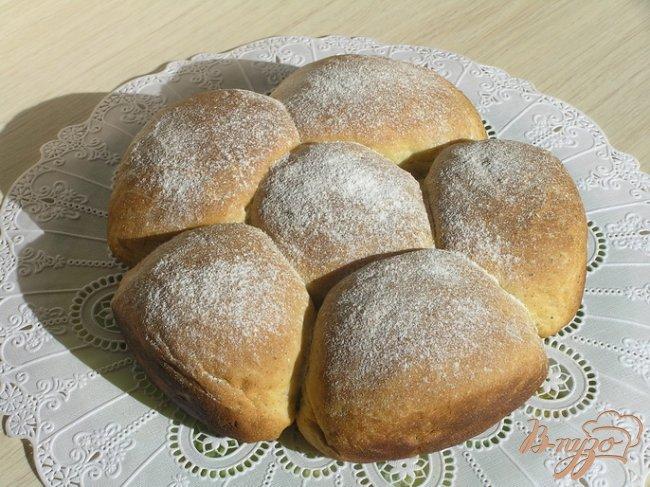 Фото приготовление рецепта: Мятные булочки шаг №8