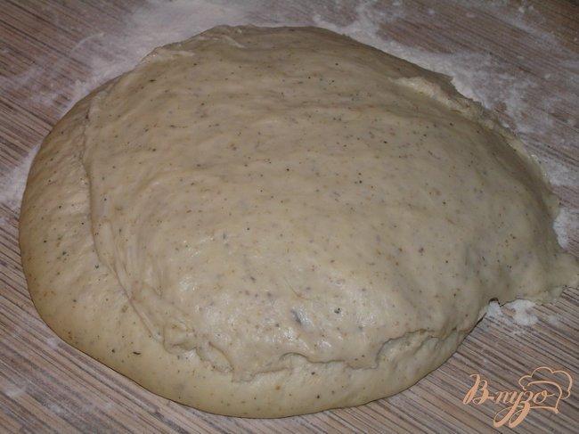 Фото приготовление рецепта: Мятные булочки шаг №4