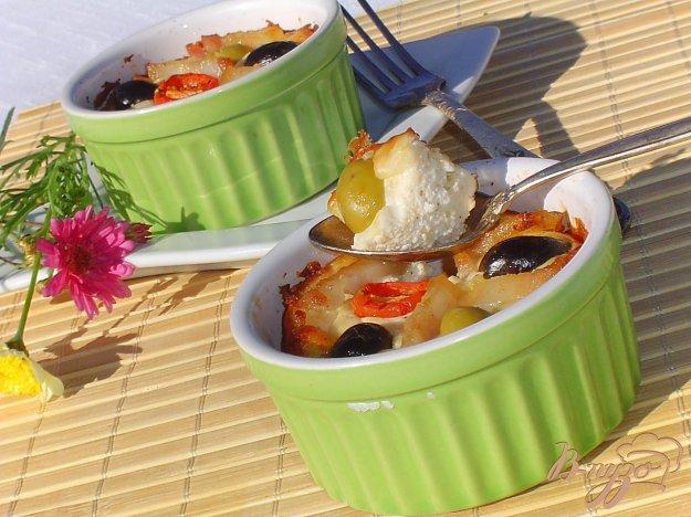 Рецепт Пате из творога с оливками и маслинами