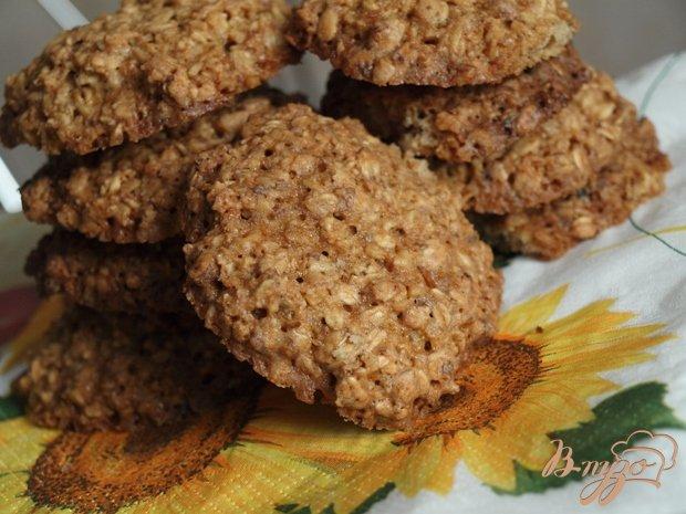 Рецепт Овсяно-ореховое печенье