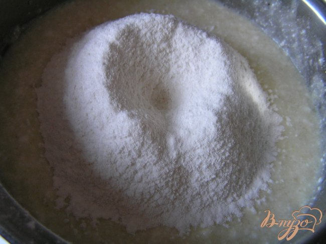 Фото приготовление рецепта: Сырники с пшенной кашей шаг №2