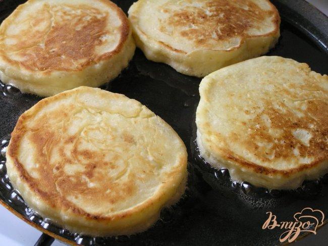 Фото приготовление рецепта: Сырники с пшенной кашей шаг №4