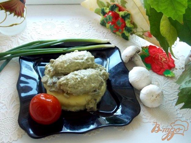 Рецепт Гречаники в грибном соусе