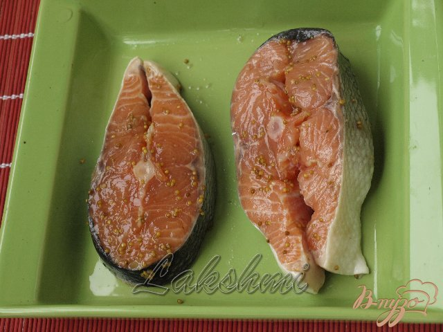 Фото приготовление рецепта: Нежная сёмга под клюквенным соусом шаг №1