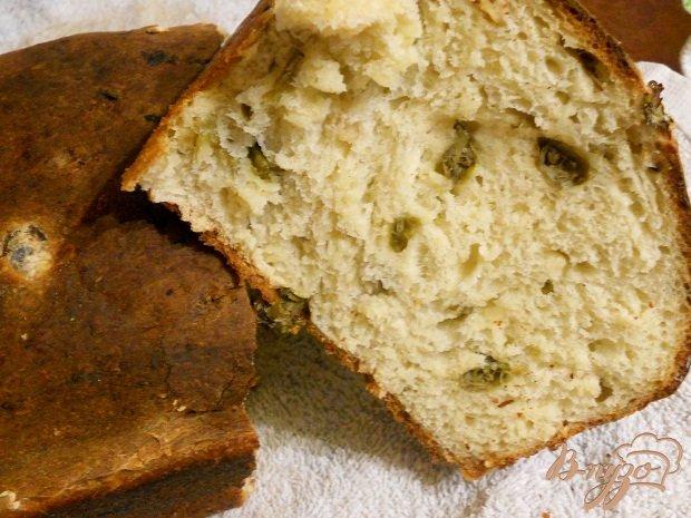 Рецепт Пивной хлеб с каперсами