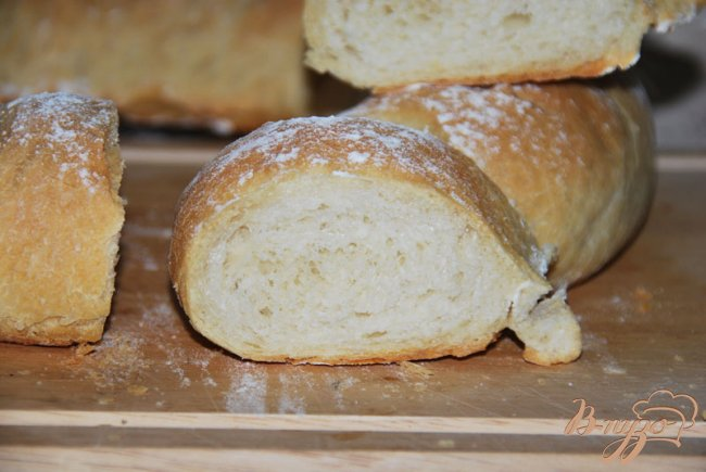 Фото приготовление рецепта: Хлеб-бублик Ciambella шаг №7
