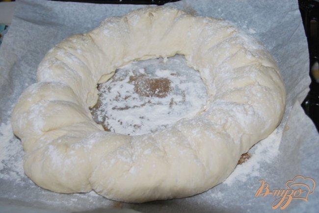 Фото приготовление рецепта: Хлеб-бублик Ciambella шаг №5