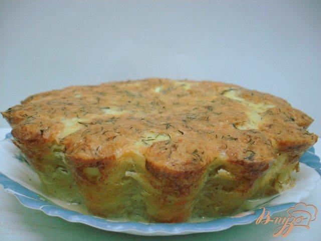 Фото приготовление рецепта: Рецепт картофельной бабки шаг №6