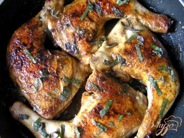 Рецепт Курица с паприкой и базиликом