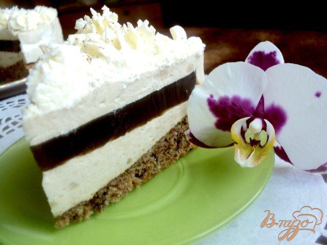Фото приготовление рецепта: Торт « Кофе со сливками» шаг №13