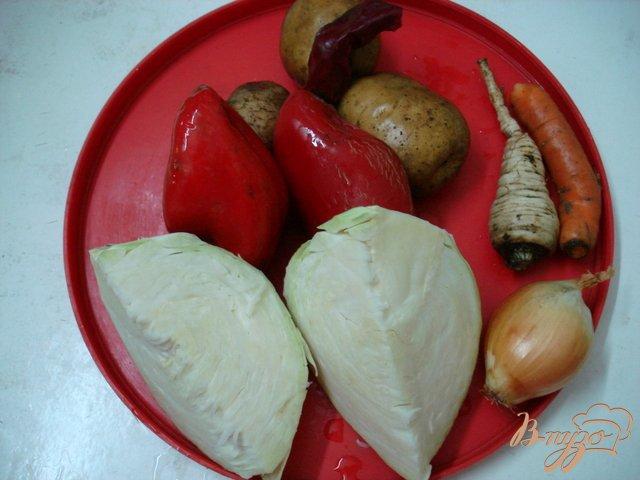 Фото приготовление рецепта: Щи летние с грибами шаг №1