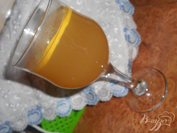 Фото приготовление рецепта: Имбирный чай шаг №4