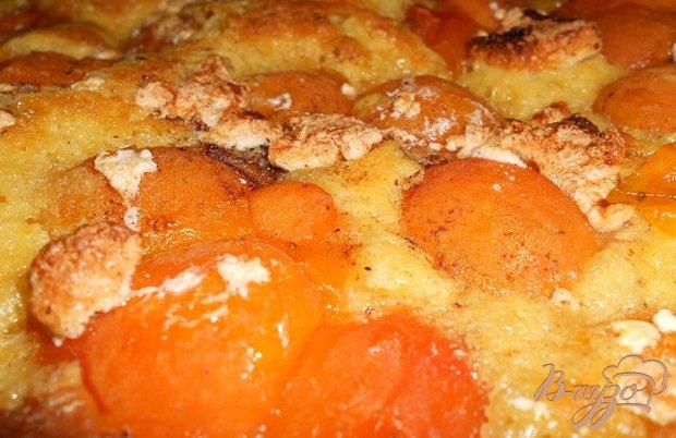 Фото приготовление рецепта: Абрикосовый пирог шаг №5