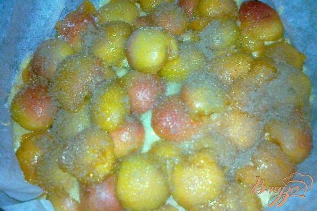 Фото приготовление рецепта: Абрикосовый пирог шаг №3