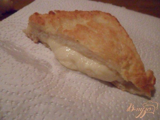 """Рецепт Mozzarella in carrozza - """"моцарелла в карете"""""""
