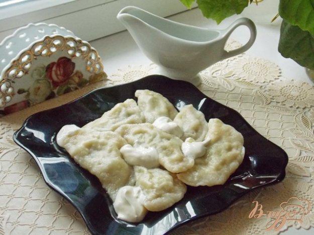 Рецепт Вареники на кефире с грибами и картошкой