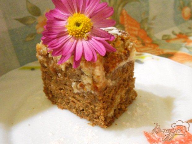 Фото приготовление рецепта: Шоколадный кекс с творогом шаг №6