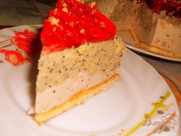 Фото приготовление рецепта: Торт смузи шаг №5
