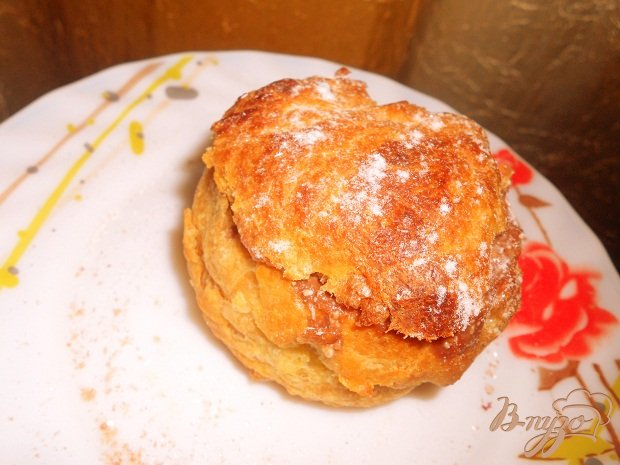 Рецепт Профитролевые булочки с творожной начинкой