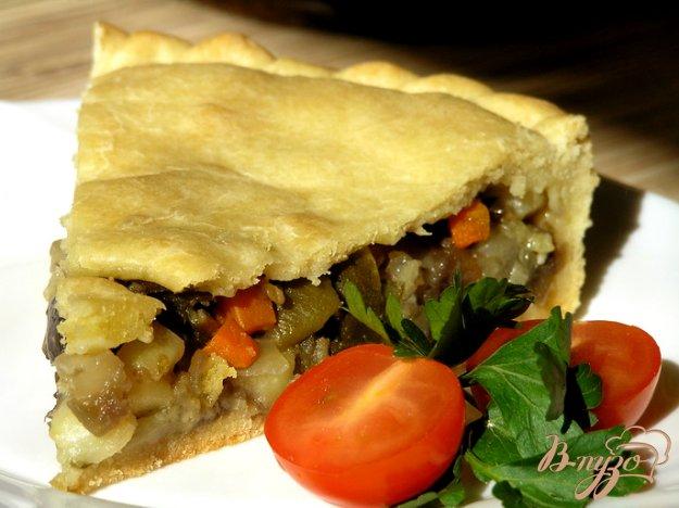 Рецепт Постный овощной пирог