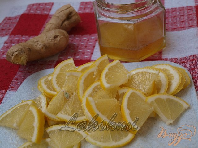 Фото приготовление рецепта: Лимон с имбирём и мёдом шаг №1
