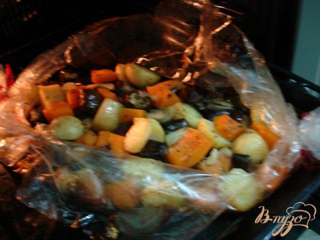 Фото приготовление рецепта: Овощи запеченные шаг №3