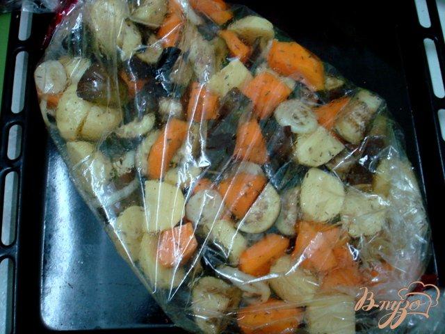 Фото приготовление рецепта: Овощи запеченные шаг №2