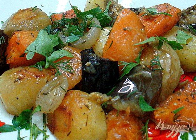 фото рецепта: Овощи запеченные