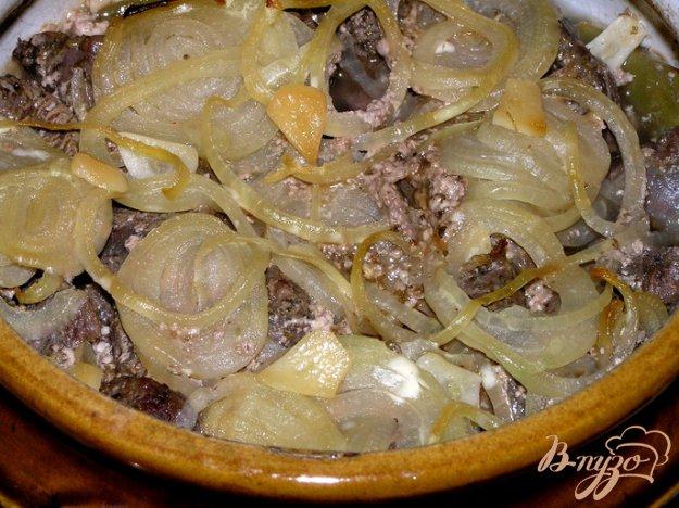 Рецепт Говядина в горшочке с лоби