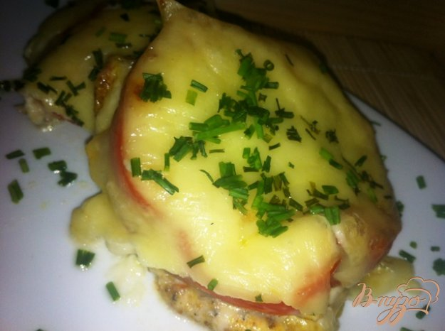 Рецепт Куриное филе под овощной шубкой