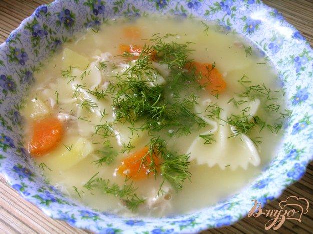 фото рецепта: Куриный суп с пастой