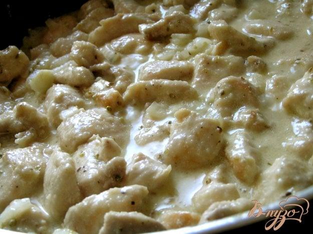 фото рецепта: Куриные грудки в кремово-горчичном соусе