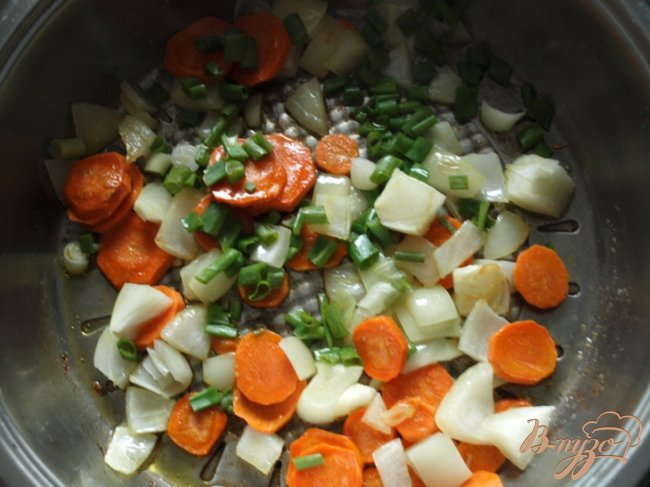 Фото приготовление рецепта: Капуста с рисом по-гречески шаг №2