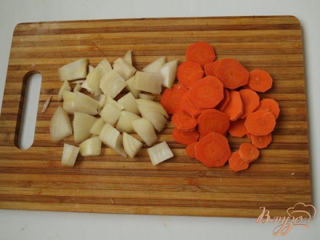 Фото приготовление рецепта: Капуста с рисом по-гречески шаг №1