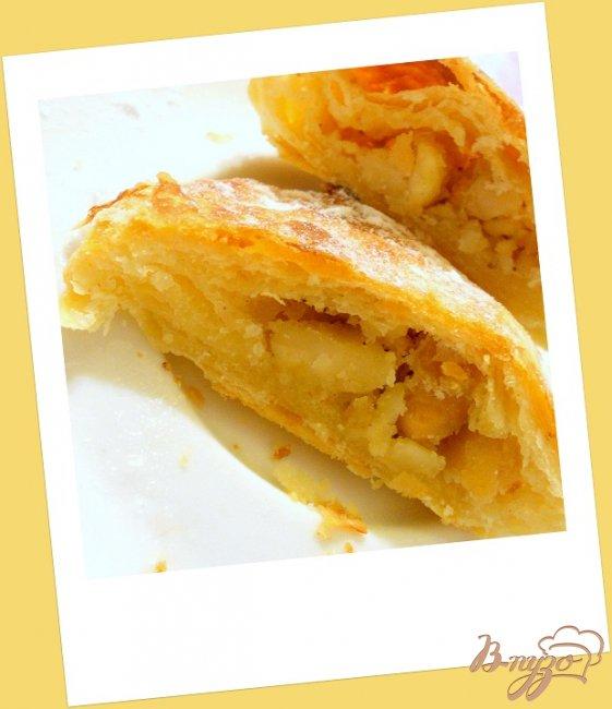 Фото приготовление рецепта: Слоеные пирожные шаг №7