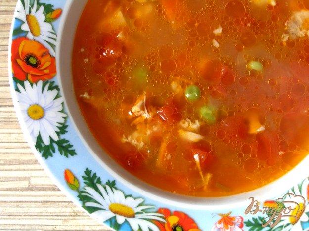 фото рецепта: Томатный куриный суп