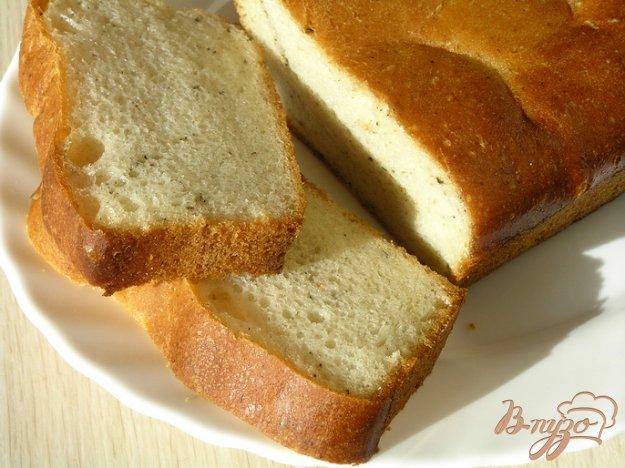 Рецепт Десертный хлеб с мятой